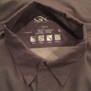 cc305eff GameGuard Shirts | Mens Fishing Shirt Gray | Poshmark
